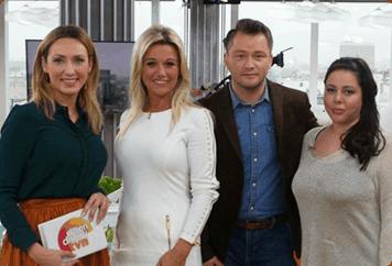 "Firma CJK das erste Mal bei der Sendung ""Dzien dobry TVN"""