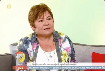 """Das Beste für jeden Senioren ist eine Pflege zu Hause – Firma KONIK bei der Sendung """"Dzien dobry TVN"""""""
