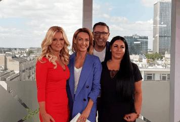 """Firma Centrum Jezykowe KONIK in der Sendung """"Dzien dobry TVN"""""""