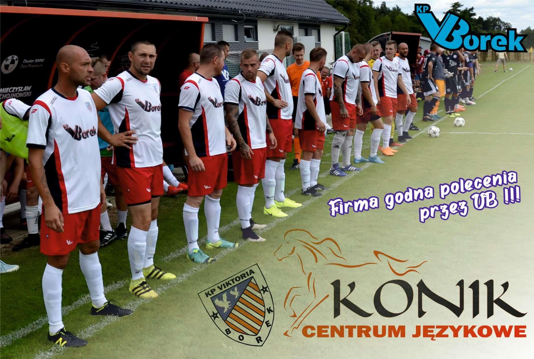 CJ Konik wspiera klub piłkarski VIKTORIA BOREK