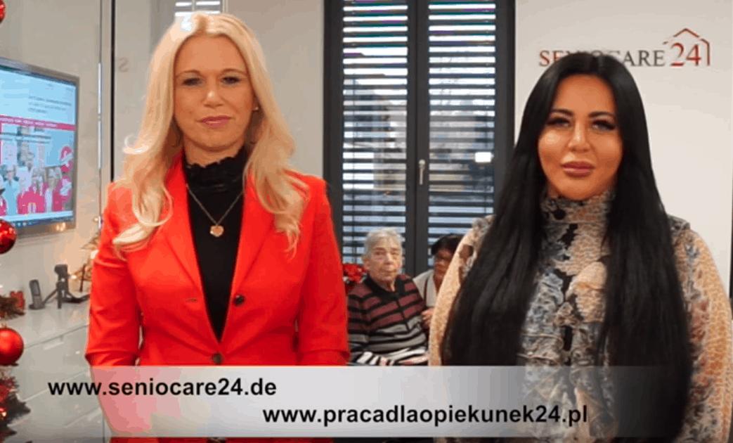 Z odwiedzinami unaszego Partnera Seniocare24 zkochaną Panią Gosią ijej podopieczną;)